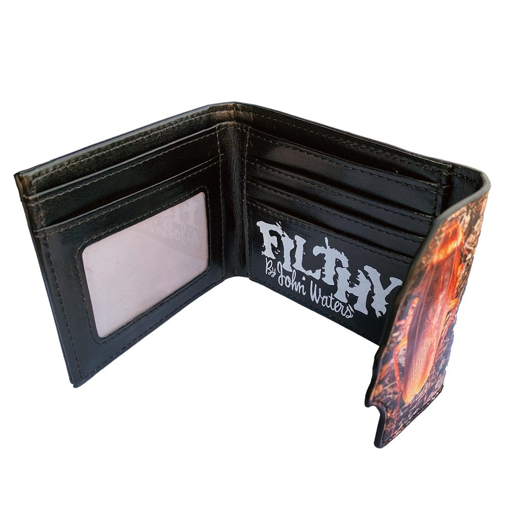 John Waters Filthy Roach Bifold Wallet