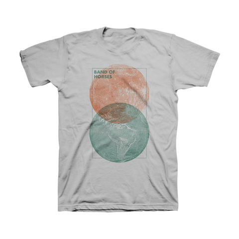 Moon & Earth Unisex Tee - Band of Horses