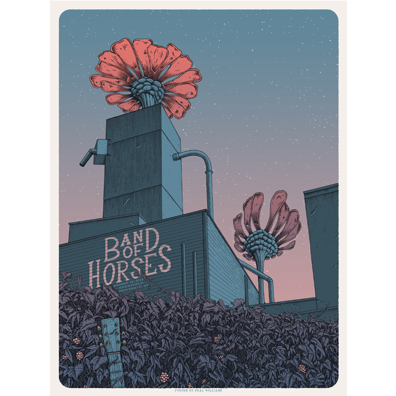 Portland, OR 8/19/16 Poster
