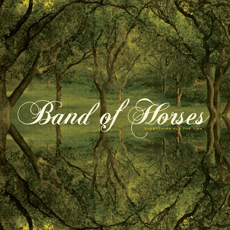Everything All The Time CD - Band of Horses