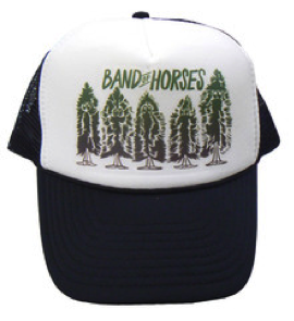Pine Trees Trucker Hat - Band of Horses