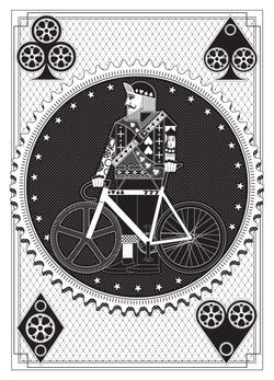 Artcrank: Interbike Screenprint