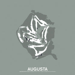 Augusta National Golf Club Screenprint Poster