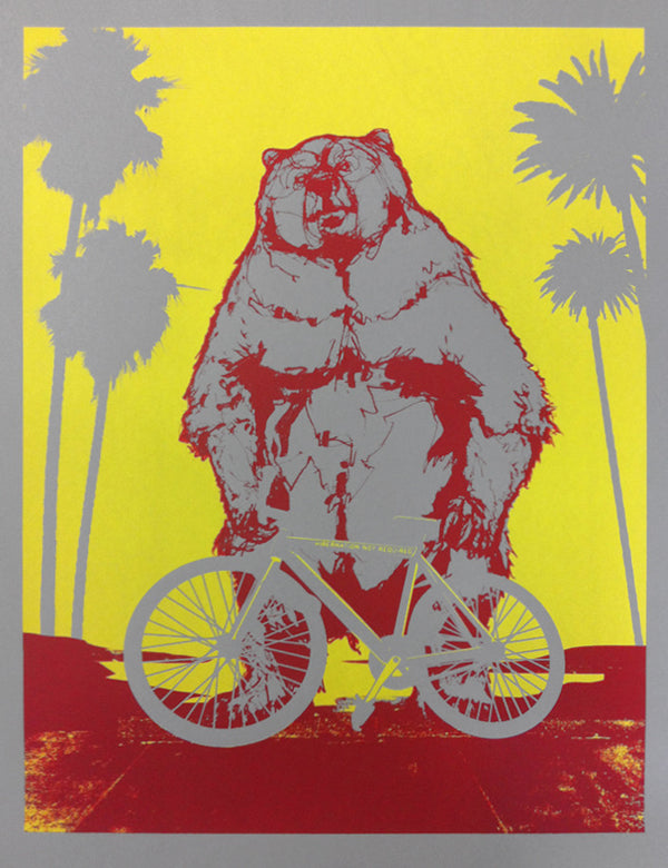 ARTCRANK Los Angeles 2012 Screenprint