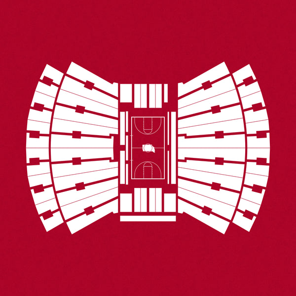Assembly Hall Foil Stamp Print