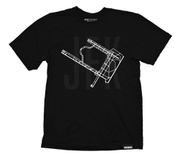 JFK: John F. Kennedy International Underlay Code T-Shirt
