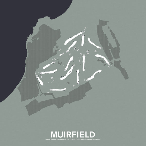Muirfield Screenprint