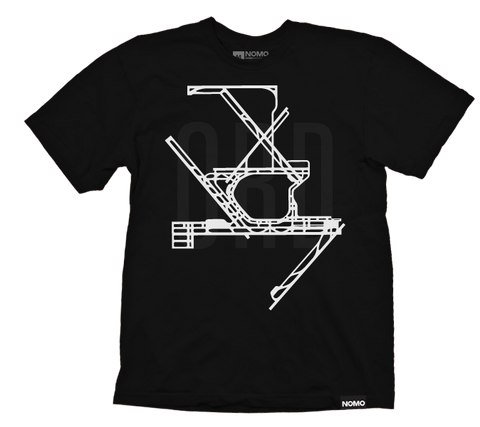 ORD: Chicago O'Hare International Underlay Code T-Shirt