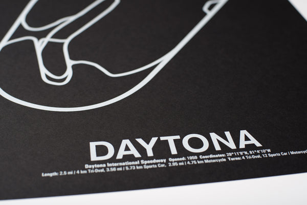 Daytona International Speedway Screenprint