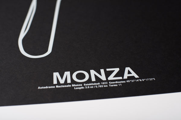 Autodromo Nazionale Monza Screenprint