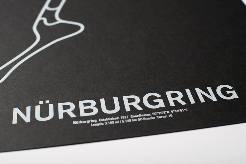 Nürburgring Screenprint