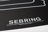 Sebring International Raceway Screenprint