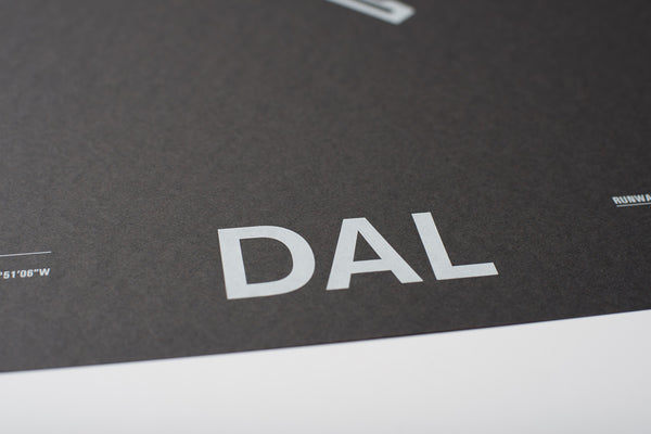 DAL: Dallas Love Field Screenprint