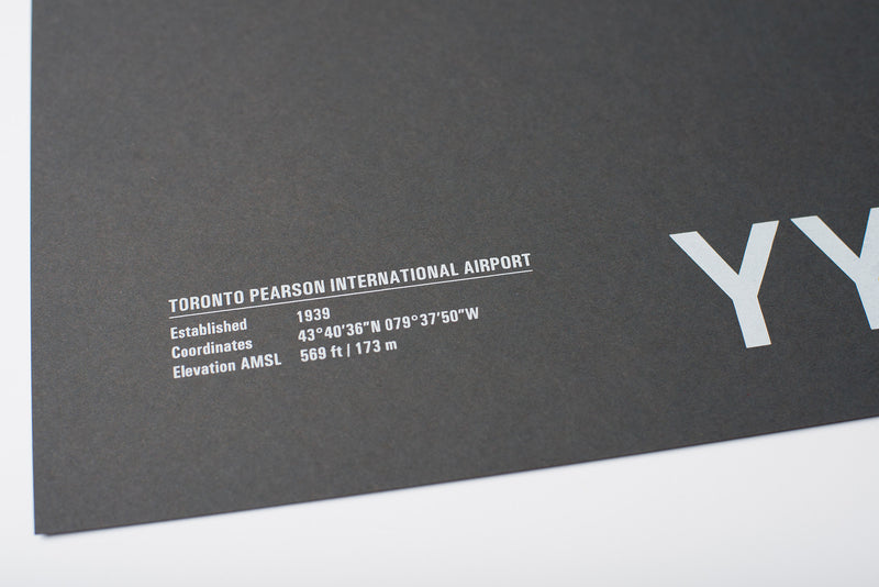 YYZ: Toronto Pearson International Airport Screenprint