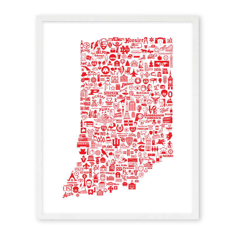 Icon Series: State of Indiana
