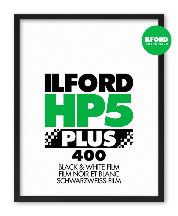 Ilford HP5 Plus Photo Film Screenprint