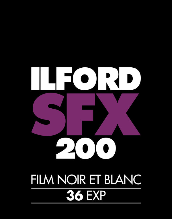Ilford SFX 200 Photo Film Screenprint