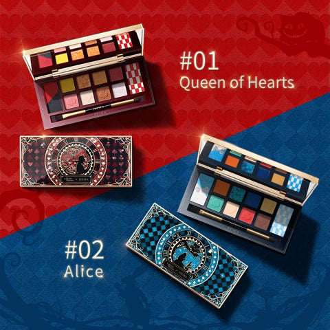 Alice In Wonderland colorful Palette Collection