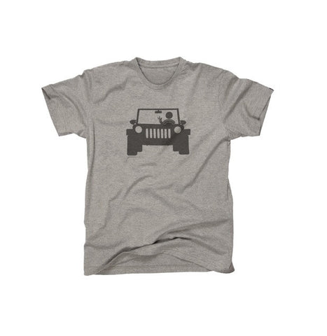 Jeep Wave Fan T-Shirt