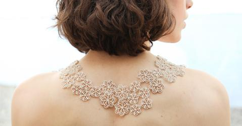 Asterias Collection statement necklace