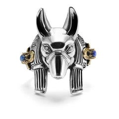 Anubis Ring - Silver Phantom Jewelry