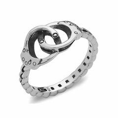 Handcuff Ring - Silver Phantom Jewelry