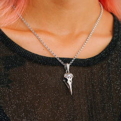 Corvidae Talisman Necklace