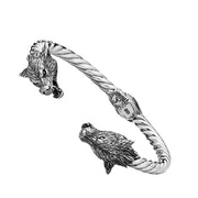 Wolf Cuff - Silver Phantom Jewelry