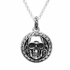 Skull Emblem Necklace