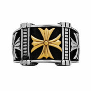 Triple Cross Ring - Silver Phantom Jewelry