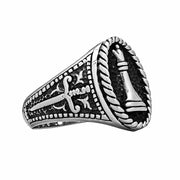 Chess Queen Ring - Silver Phantom Jewelry