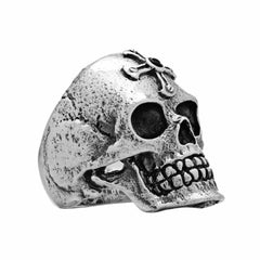 Sacramental Skull Ring - Silver Phantom Jewelry
