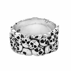 Catacombs Ring - Silver Phantom Jewelry