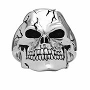 Wicked Skull Ring - Silver Phantom Jewelry