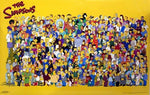 The Simpsons Characters Poster