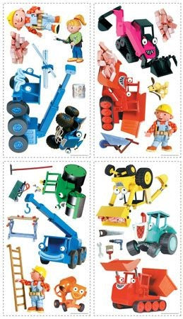BOB THE BUILDER Roommates RMK1162SCS