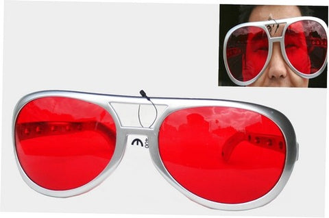 Huge Red Sunglasses