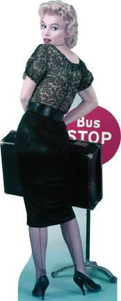 Marilyn Monroe Bus Stop cutout #68