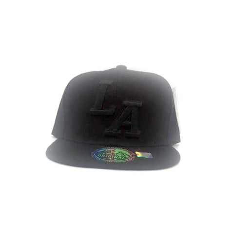 "Los Angeles ""LA"" Cap - Black"