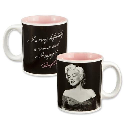 Marilyn Definitely a Woman Coffee Mug