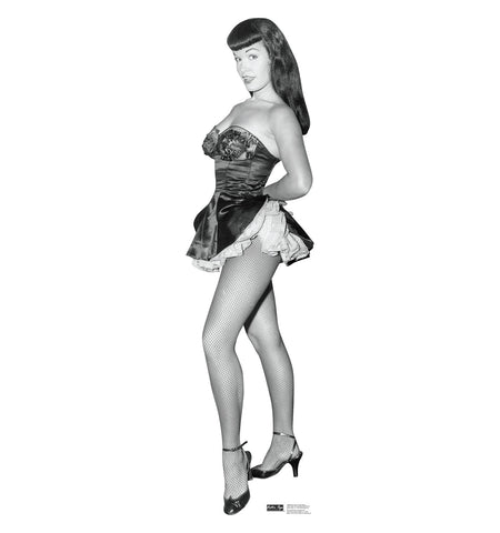 Bettie Page Fish Net Nylons #1608