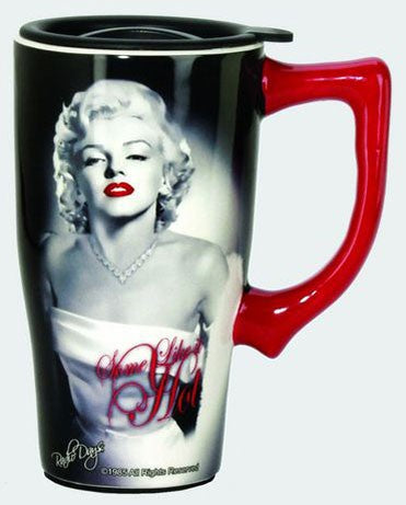 Marilyn Monroe Hot Travel Mug