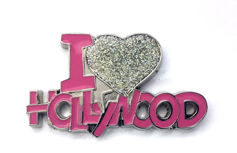 I love Hollywood Magnet