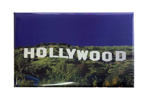 The famous Hollywood Sign Picture Magnet