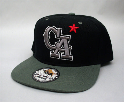 "California ""CA"" Cap - Black"