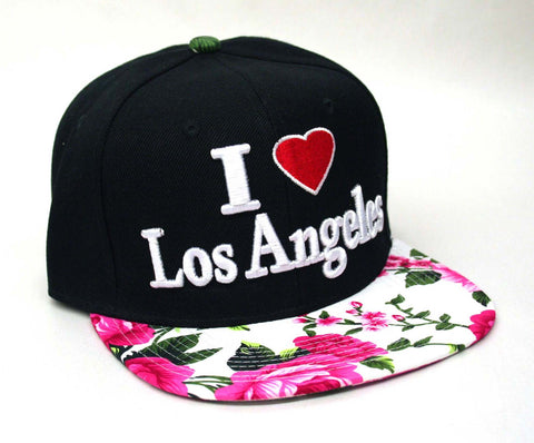I Love Los Angeles Cap - Pink