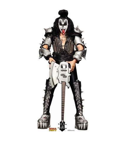 The Demon from KISS cardboard cutout #2459