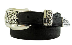 "1"" ADONIS 3 Piece Buckle Set in .925 Sterling Silver - AL BERES"