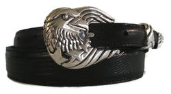 "¾"" Freedom Eagle 3 Piece Buckle Set in Sterling Silver - AL BERES"