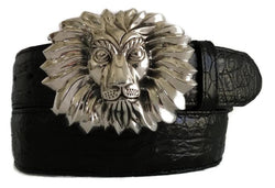 "1½"" SIMBA LION ""Buckle Only"" in .925 Sterling Silver - AL BERES"
